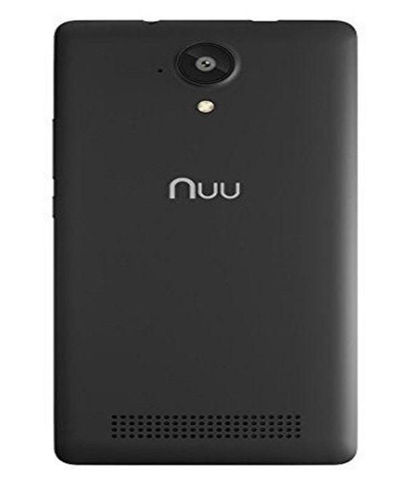 Smartphone entsperrt Nuu Mobile X4 5 Smartphone 16 GB Android Schwarz Mobile X4 Android-Telefon Android Smartphone Entsperrt Android Smartphone