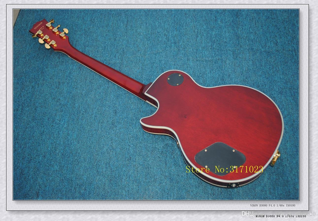 Custom Shop Guitarra Elétrica de Mogno Clássico com sistema de Tremolo New Arrival Frete Grátis Alta China guitarra