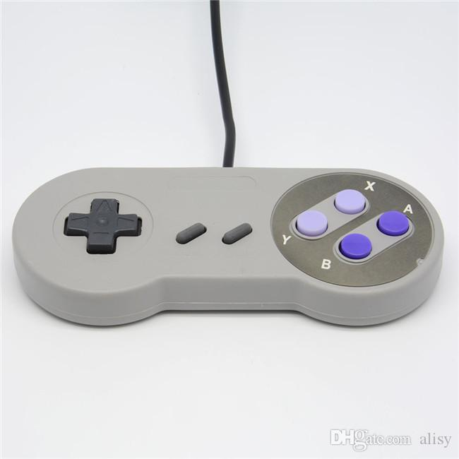 Retro Game Gaming For SNES USB Gamepad Joystick Control For Windows PC for Mac Six Digital Buttons
