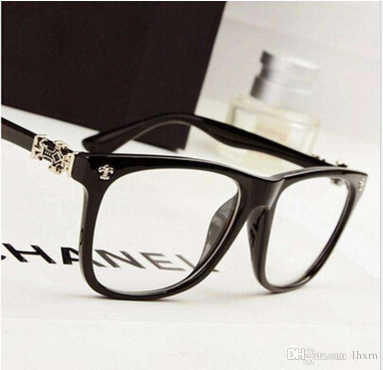 1929cb8bfdad0 Compre Atacado Moda Designer Designer Óculos Quadro Óptico Óculos Lentes  Claras Lentes Olho Moldura Para Mulheres Homens Moldura Óculos De Lhxm