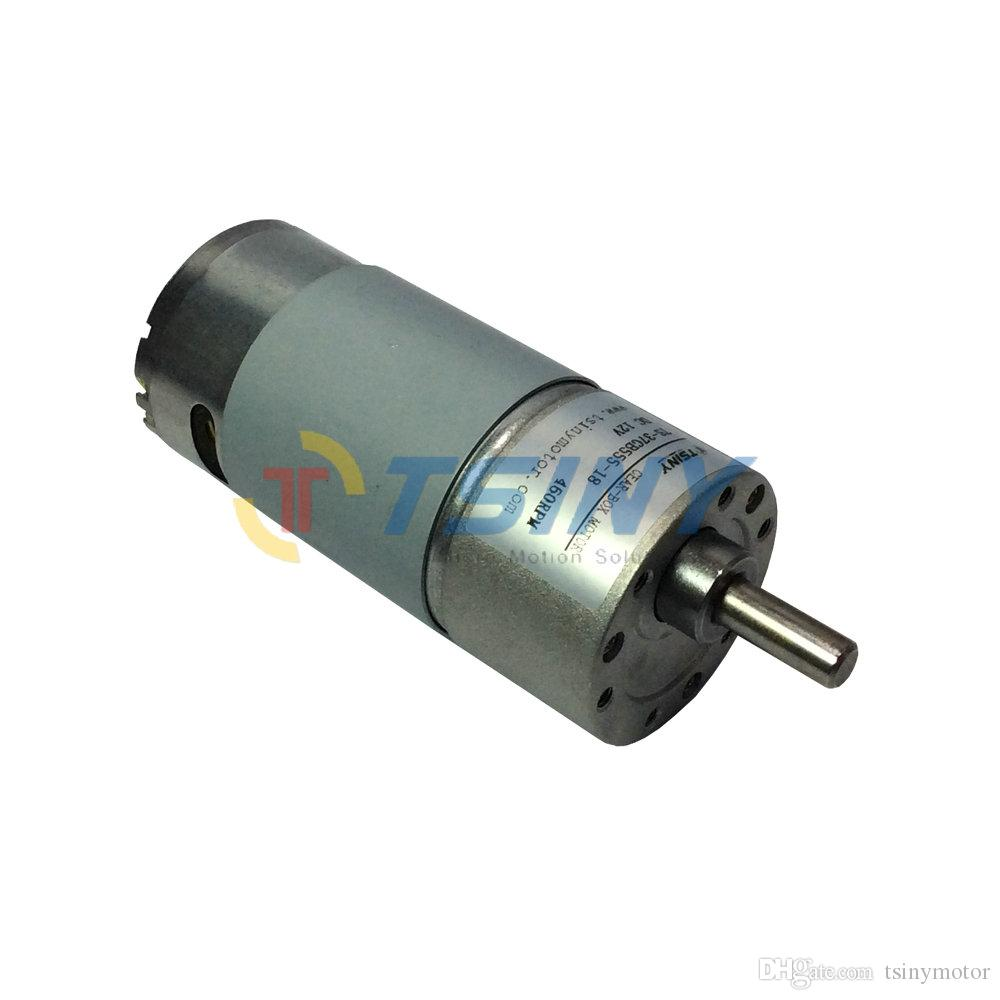 High Speed DC Gear Motor 12V 460RPM Low Torque 3kg.cm DIY Engine RC Smart Car Robot Mmodel Door Locks