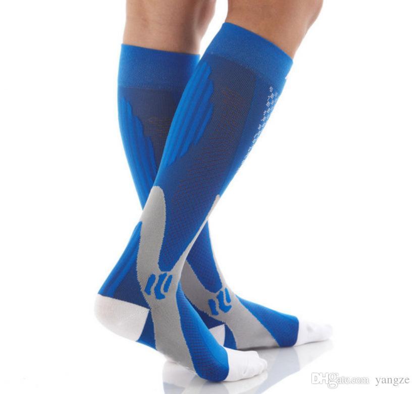 Unisex adulto proteger pés respirável wicking wicking meias de compressão correndo basquete futebol esporte sock venda quente hw718