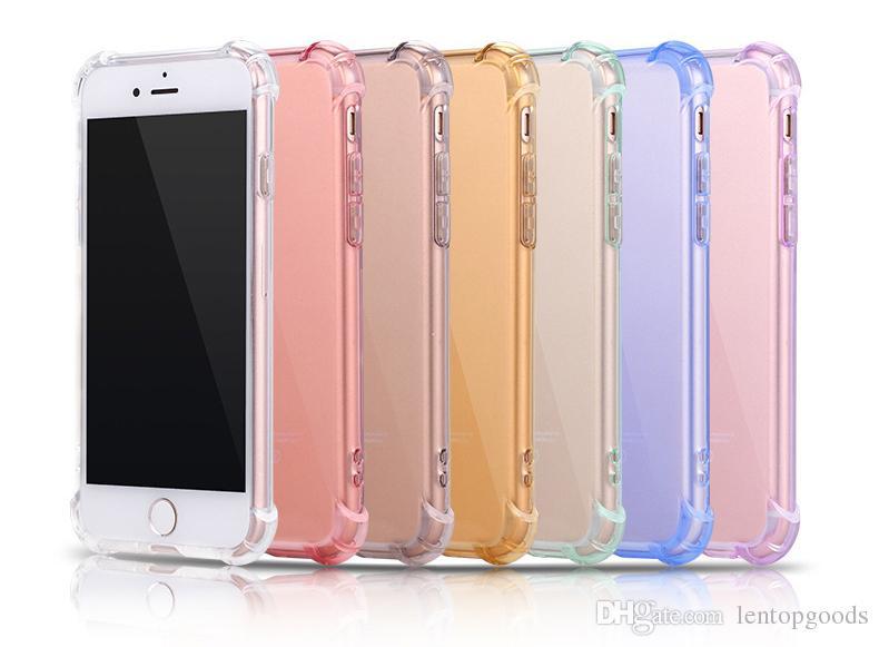 Compre Ultra Fino Tpu Case Macio Capas Para Iphone X 10 8 7 6 6 S Plus 5  Transparente Limpar Silicone Telefone Tampa Traseira De Lentopgoods, ... dad78ccc48