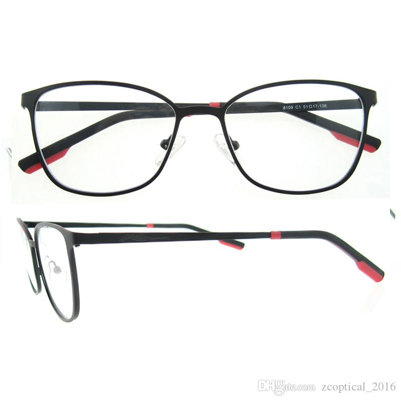 New Arrival Oval Metal Frame Full Rim Superfine Good Quality Optical ...