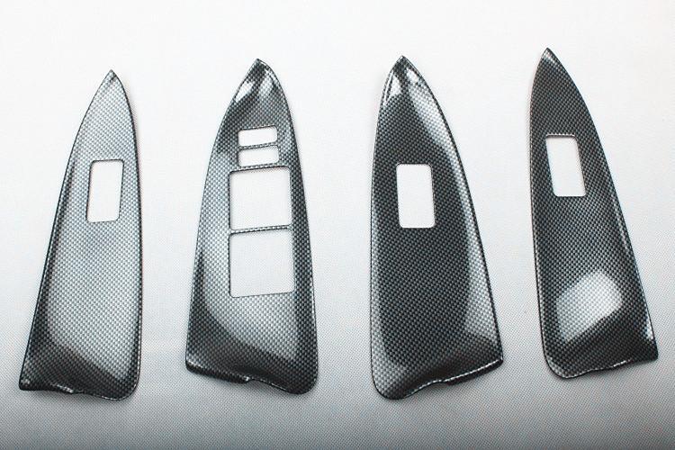 Accessori Interni in fibra di carbonio Per il 2009-2013 TOYOTA RAV4 12 pezzi / set