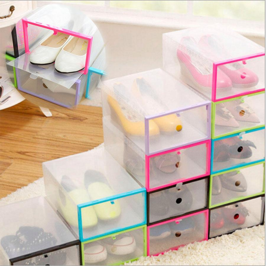 Wholesale-Multifunction Plastic Shoe Box Transparent Crystal Storage Shoebox Household DIY Clamshell Shoebox Storage Box Box Pencil Box Balloon Online with ...  sc 1 st  DHgate.com & Wholesale-Multifunction Plastic Shoe Box Transparent Crystal Storage ...