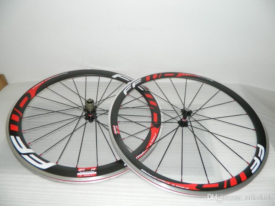 2017 FFWD 50mm clincher bicycle wheels 700c Carbon fiber road bike Racing wheelset carbon road wheels