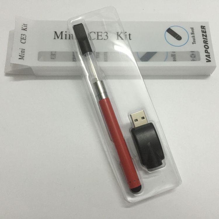 2016 Yeni Elektronik Sigaralar Mini CE3 Vape Kiti Tomurcuk dokunmatik Başlangıç Kiti O Kalem 280 mah Balmumu Yağı Kartuşu Ücretsiz DHL