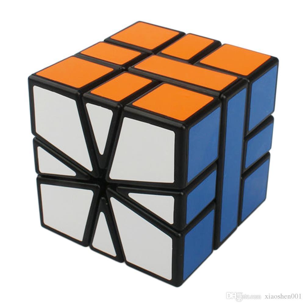 Shengshou 광장 -1 SQ1 3x3x3 속도 매직 큐브 퍼즐 큐브 Magico 퍼즐 속도 클래식 학습 교육 장난감 어린이의 ToyFree 배송