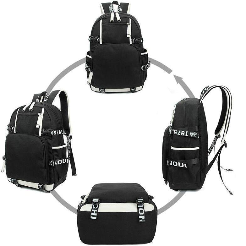 Grundy sırt çantası Cyrus Altın Solomon okul çantası Süper kahraman baskı sırt çantası Rahat bilgisayar schoolbag Dışarı kapı sırt çantası Spor gün paketi