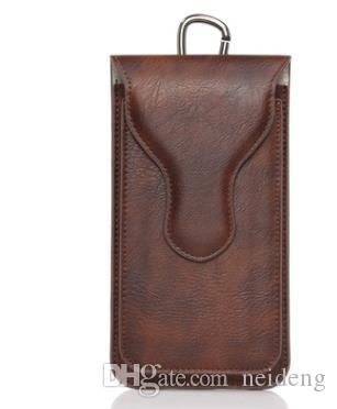 For iphone 7 plus Universal PU Leather Cases Outdoor Dual Bags Waist Belt Pouch Holder Phone Case For iphone 6 6s