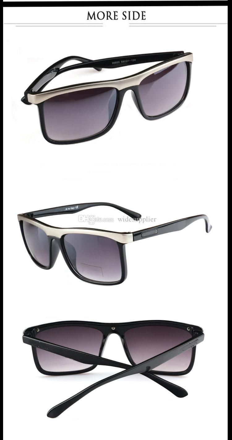 new fashion sunglasses trend of Europe and the United States Fan glasses anti - ultraviolet men and women sunglasses Brand P96855