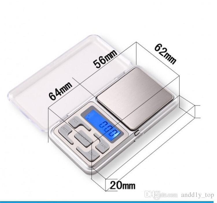 소매 포장을 가진 소형 전자 소형 가늠자 200g 0.01g 보석 다이아몬드 가늠자 가늠자 가늠자 LCD 디스플레이