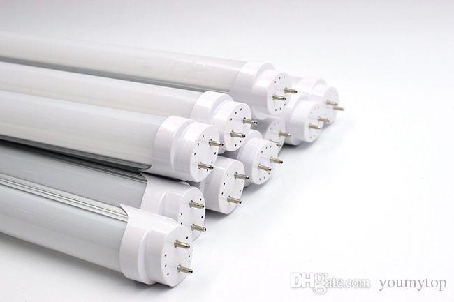 보증 2 년 + 14W 0.9m 3ft LED T8 튜브 조명 형광등 램프 따뜻한 / Natrual / 콜드 화이트 AC 85-265V + CE RoHS + 무료 배송
