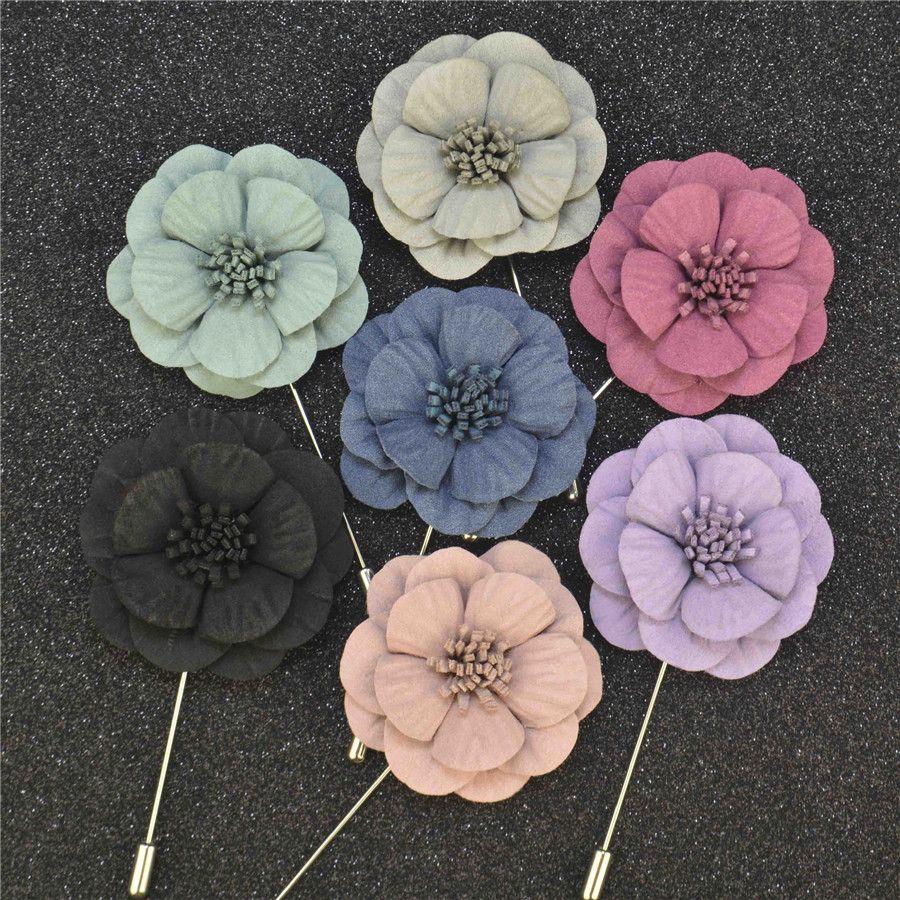 Flower Pin Brooch Ec71 Advancedmassagebysara