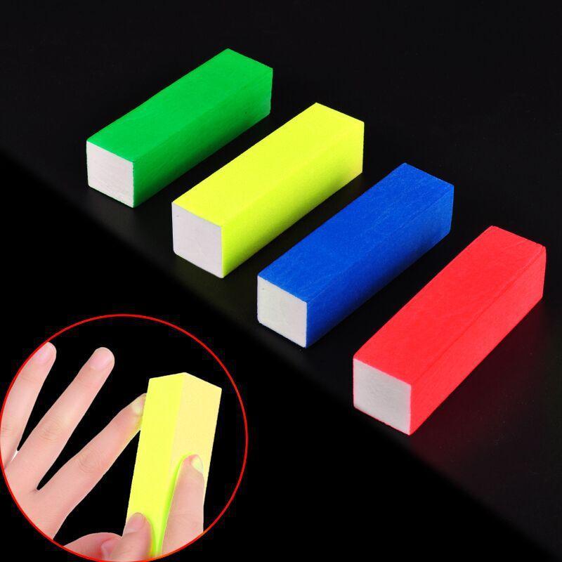 Wholesale Nail Supplies Four Color Sponge Polishing Block Rubbing ...