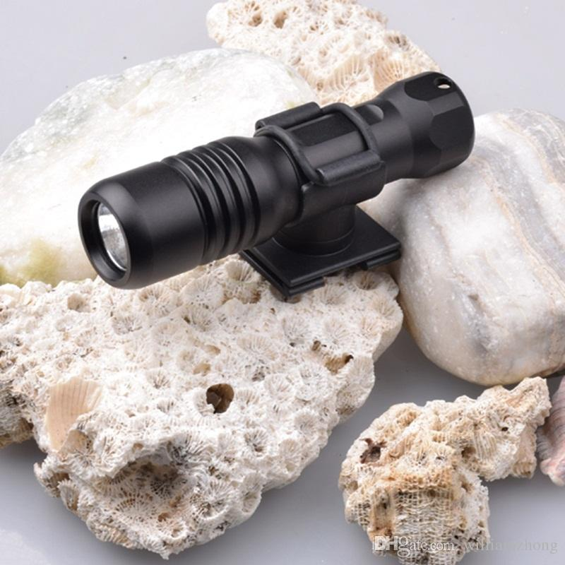 Diving diver LED Flashlight underwater torch CREE XM-L2 U4 waterproof light lamp 360 Degree Rotation Diving Flashlights-DIV18