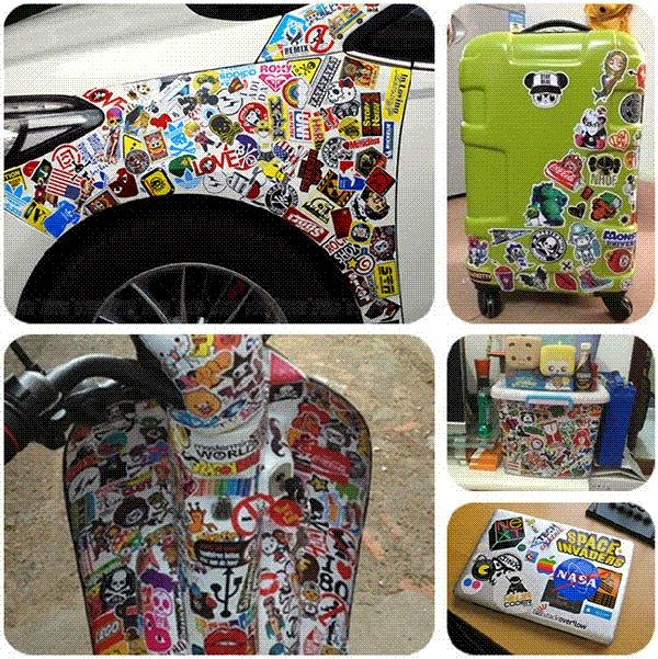 Wholesale Brand One Piece Characters Decoration StickersDiy - Vinyl stickers for motorcycles