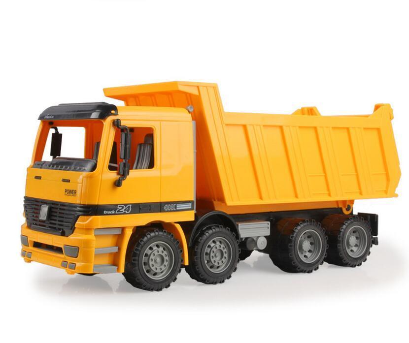 new big size large jumbo sandbox dump truck sand transport on beach toys 558 - Toy Dump Trucks