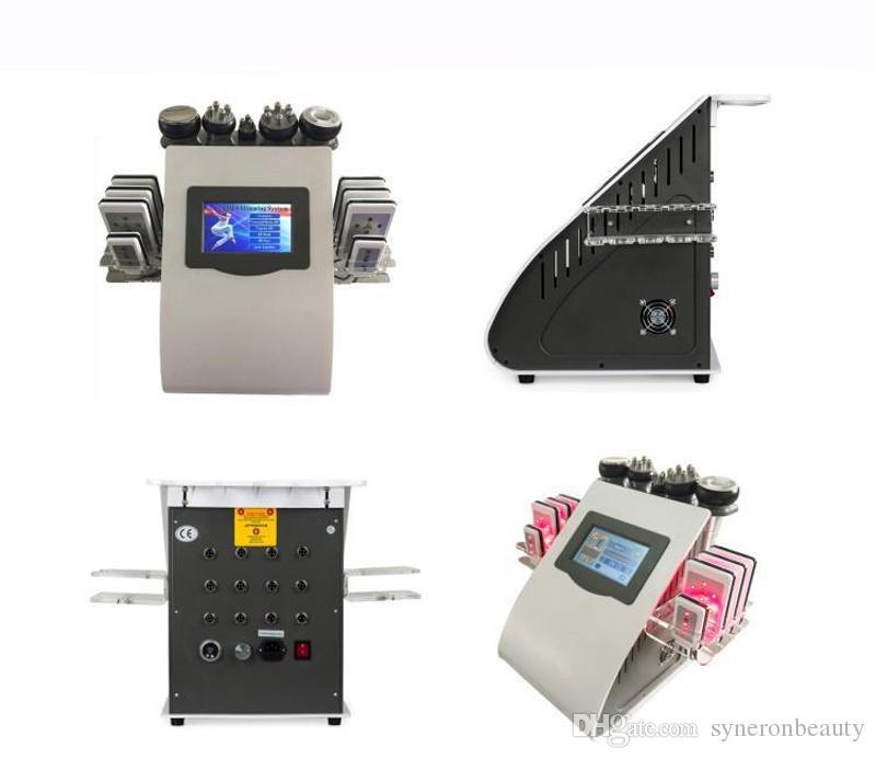 Beauty Salon Professionelle Radiofrequenz Körper Vakuum Ultraschall Slim Kavitation Lipo Laser Maschine für Gewichtsverlust