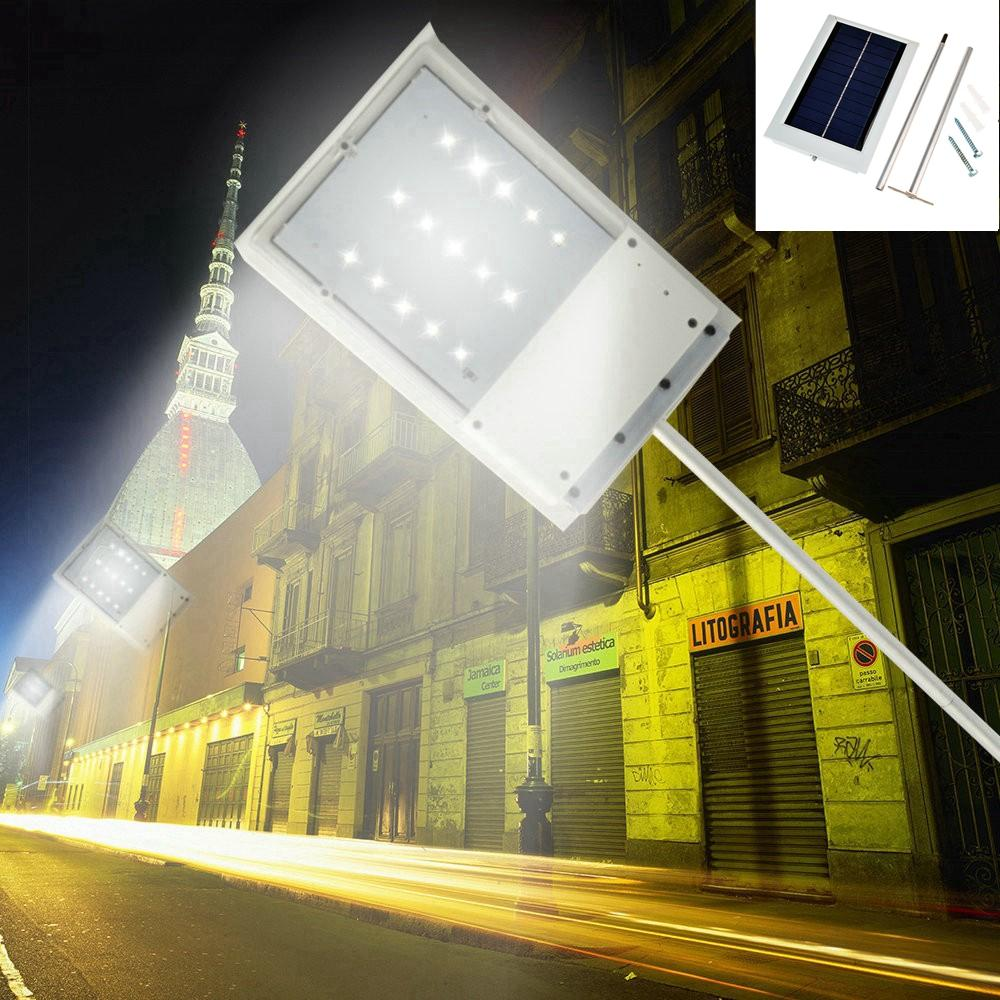 2019 Wholesale Solar Powered 15 Led Street Light Solar