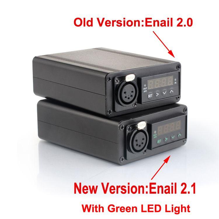 Enail controller box vapor kit DIY heater coil e-nail 16mm for Domeless Titanium Nail for Dnail Enail Vaporizer ecig