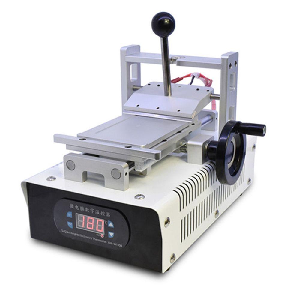 110 فولت / 220 فولت oca الغراء إزالة آلة المستقطب المزيل للهاتف المحمول شاشة LCD إصلاح تجديد مع قوالب