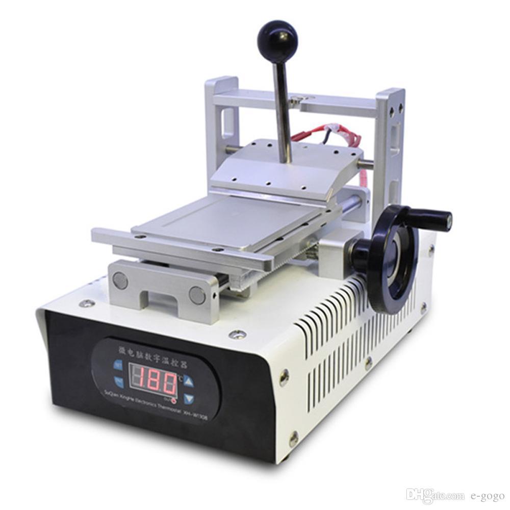 110 V / 220 V OCA Tutkal Kaldırma Makinesi Cep Telefonu LCD Ekran Onarım için Polarize Sökücü Kalıpları ile Yenilemek