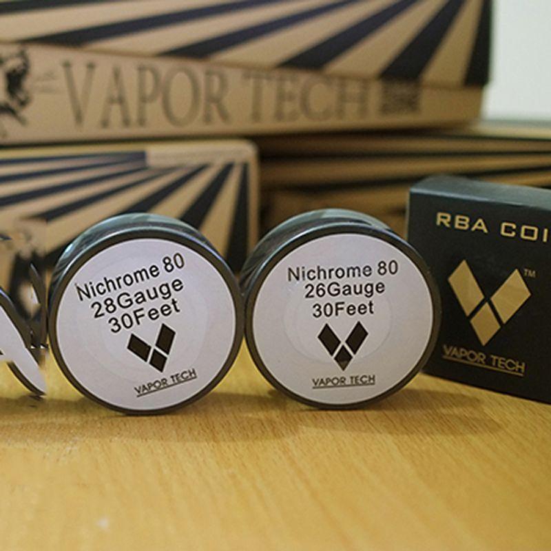 E-Zigarette Heizdraht Nichrom 80 Ni 80 Rebuild RDA Draht Vaportech NIchrome 80 Ecigs Widerstand Nichrome 22 Gauge Coils Drahtspule