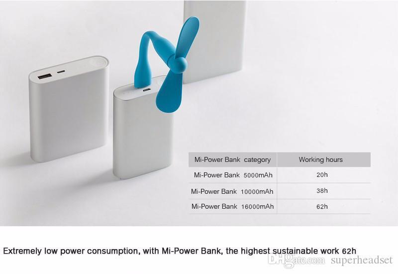 Nette bewegliche flexible USB-Ventilator Biegsame abnehmbare USB-Gadgets Low-Power für PC für Laptop