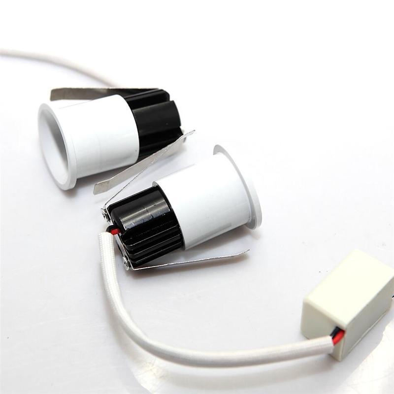 LED downlight spotlight beam micro mini spotlights 1*3w desk lamp jewelry showcase lamp cabinet wine cabinet lights
