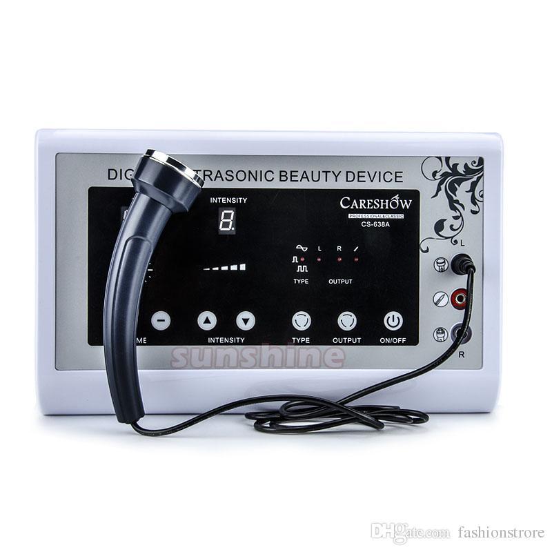 Ultrasonic Ultrasound skin Spot remover Mole Tattoo Removal Body Therapy Face spa device Massage instrument Beauty Machine