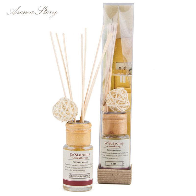 Wholesale- Incense Sticks No Fire Aroma Essential Oils Home Furnishing  Perfume Rattan Sticks Indoor Sterilization Of Fresh Air
