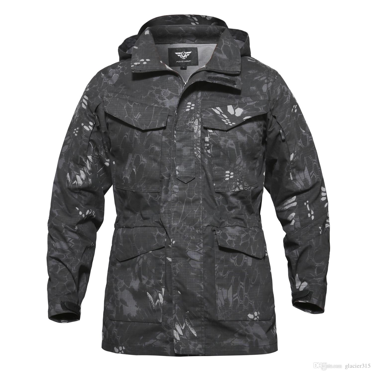 Shanghai Story Men's Military Trench Coat Waterproof windbreaker Trench Army tactical Clothing