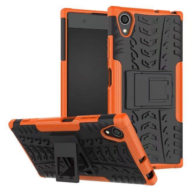 Опционально для Sony XA1 Plus Case стенд прочный комбо гибридный броня кронштейн удара кобура защитный чехол для Sony Xperia XA1 Plus