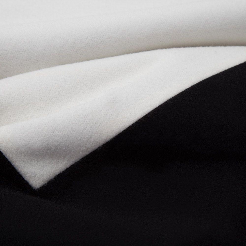 VESTLINDA Coat Women Winter Fashion Coat Wool Cape Coat Female White Turn Down Collar Star Print Single Breasted Coats Outwear