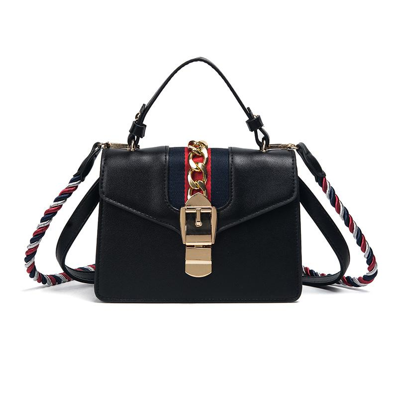 1fde48bc7487 Designer Leather Handbags Women Bag Fringe Twisted Shoulder Strap Bag  Fashion Top Handle Bags Ladies Messenger Bags Luxury Brand Bag Leather  Handbag Red ...