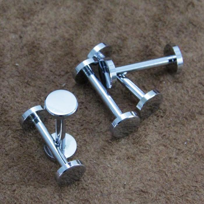height 21mm fastener Chrome plated wallet bag screw brass belt Rivet diy handmade leather key case hardware part