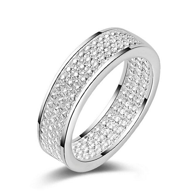 New Vintage Rings for Women 925 Sterling Silver Fashion Jewelry Trend Men Hollow Net Width Ring hot sell girl gift