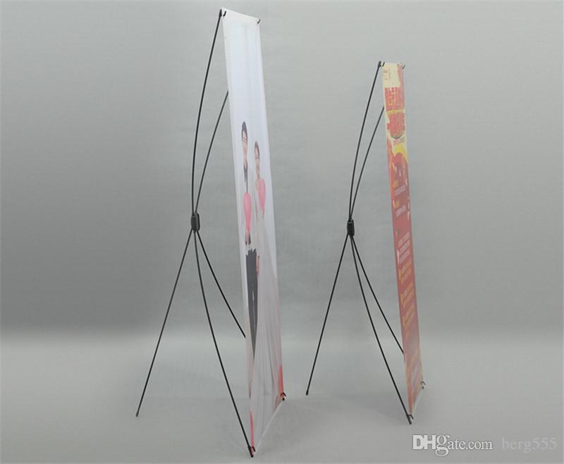 Erstklassige Fiberglas X Banner Stand Leichte Werbung X Display Messe X Rahmen Ausrüstung mit tragbaren Tragetasche PVC-Druck