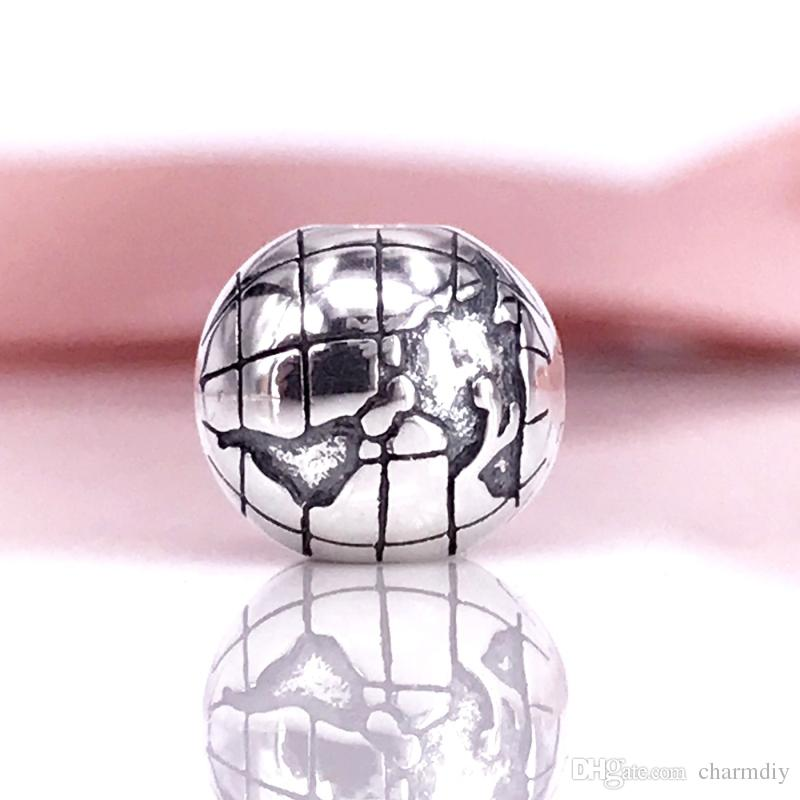 13ca65c0f Classics Design Wholesale Authentic 925 Sterling Silver Globe Clip Fits For  DIY Style Jewelry Bracelets 791182 Sterling Silver Beads Charm S925 Globe  Clip ...