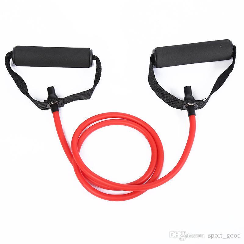 Caucho natural Látex Bandas de resistencia para ejercicios de Fitness Cuerda de tubo elástico Ejercicio para ejercicios Banda de yoga Equipos de ejercicios para entrenamiento Bandas para adelgazar