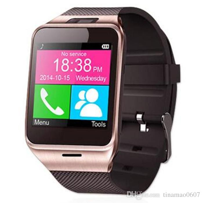 Smart Watches Bluetooth Aplus GV18 Clock Sync Support NFC SIM TF Card Camera for Apple IOS Android Smartwatch Smart Wrist Watch Cell Phone