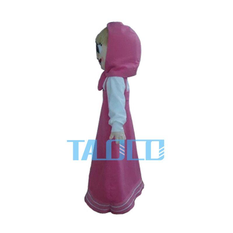 Neue Martha Mädchen Maskottchen Kostüm Kleid Maskottchen Fancy Adult Size