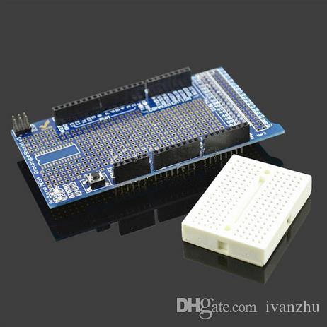 Arduino의 MEGA ProtoShield V3 프로토 타입 확장 보드
