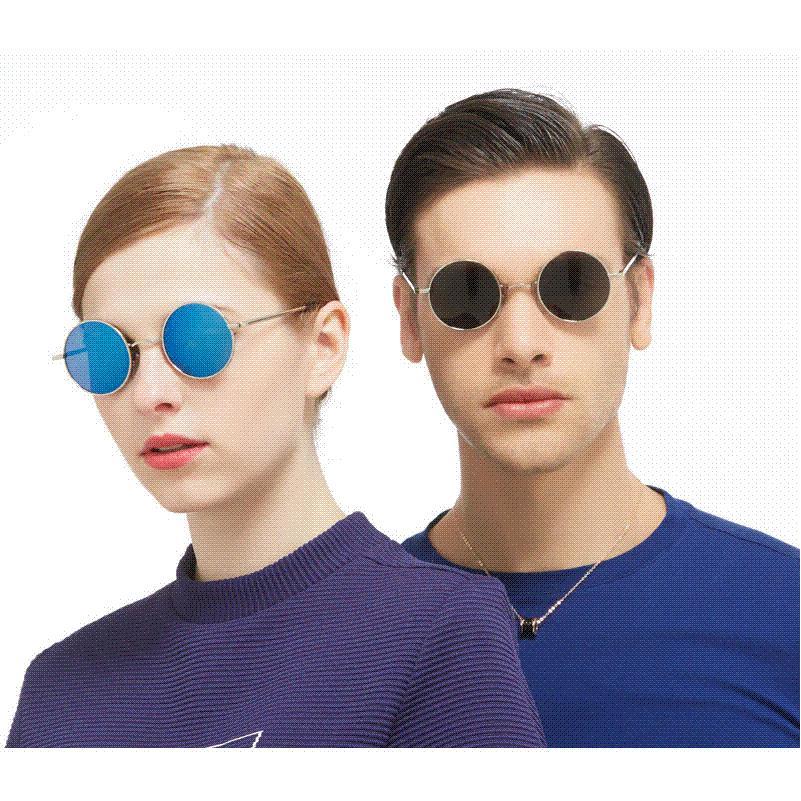f05dd2dd020 New Brand Designer Classic Polarized Round Sunglasses Men Small Vintage  Retro John Lennon Glasses Women Driving Metal Eyewear Sunglasses For Women Cat  Eye ...