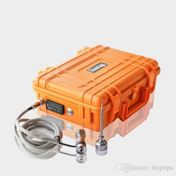 Enail катушки нагреватель 16 мм 20 мм 110 в 100 Вт 240V 5-контактный XLR штекер катушки нагреватель с K тип термопары для E ногтей системы DIY