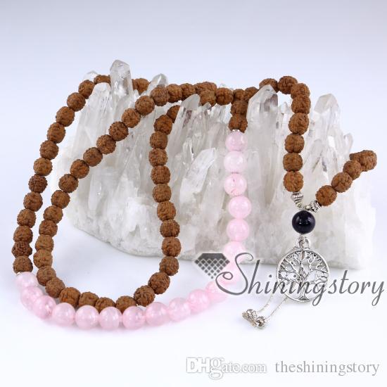 108 ожерелье из бисера малая буддийские четки медитирующие бусины буддийские четки духовные украшения йоги украшения йоги