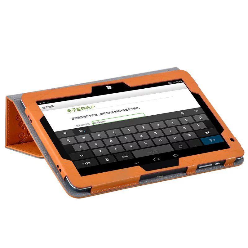 فاخر طباعة زهرة بو الجلود حالة الغطاء ل Chuwi HiBook Pro 10.1 بوصة اللوحي + قلم