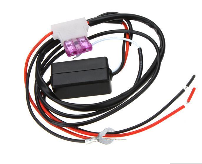 유니버셜 12V 자동차 LED DRL 컨트롤러 자동 led 낮 실행 조명 자동 키트에 대 한 램프 키트 온 / 오프 스위치 컨트롤러